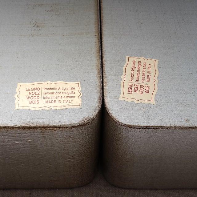 Image of 4-Piece Florentine Silver-Gilt Nesting Trays