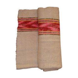 Vintage Handwoven Peruvian Frazada/Blanket