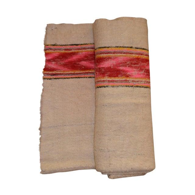Vintage Handwoven Peruvian Frazada/Blanket - Image 1 of 10