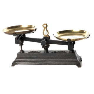 French Antique Scale