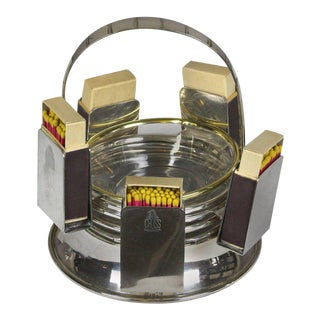Mark Cross Ashtray Caddie