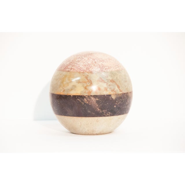 Stone Sphere in the Style of Maitland Smith - Image 2 of 10