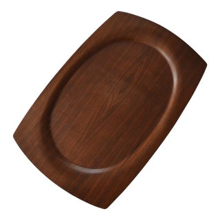 Haskelite Walnut Veneer Bent Plywood Tray