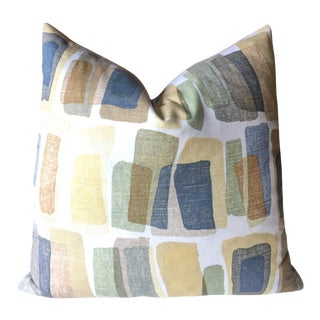 Mid-Century Stonehenge Abstract Pillow Cover