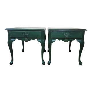 Queen Anne Side Tables - A Pair