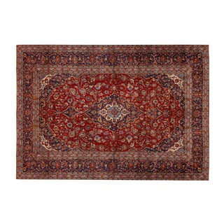 Traditional Persian Wool Rug - 13' x 9'