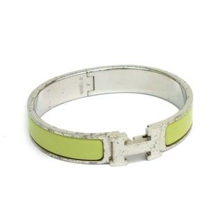 Hermes H Pm Enamel Bracelet