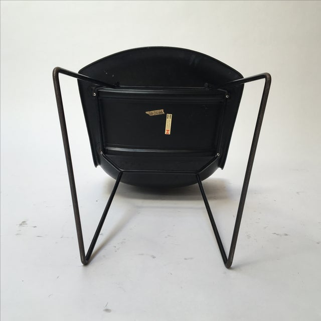 Image of Knoll Bertoia Fiberglass Side Chairs - Set of 3