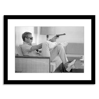 """Steve McQueen Takes Aim"" by John Dominis"