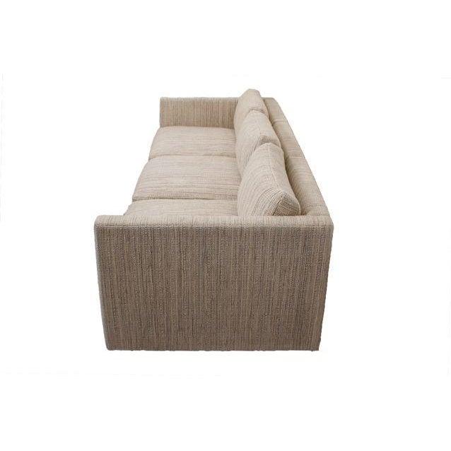 Knoll Long & Low Sofa w/ Original Upholstery - Image 3 of 10