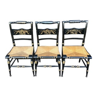 Hitchcock Chairs - Set of 3