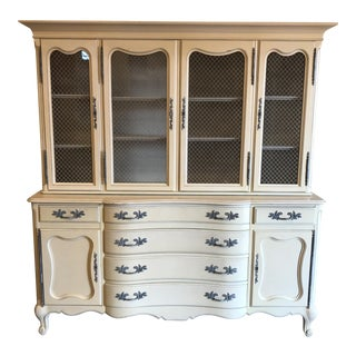 John Stuart French Provincial China Cabinet