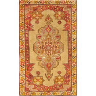 """Pasargad Vintage Anatolian Collection Hand-Knotted Wool Rug- 4' 7"""" x 7' 5"""""""