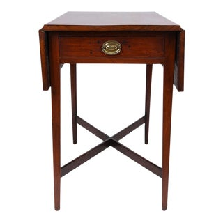 Antique Sheraton Pembroke-style Mahogany Table