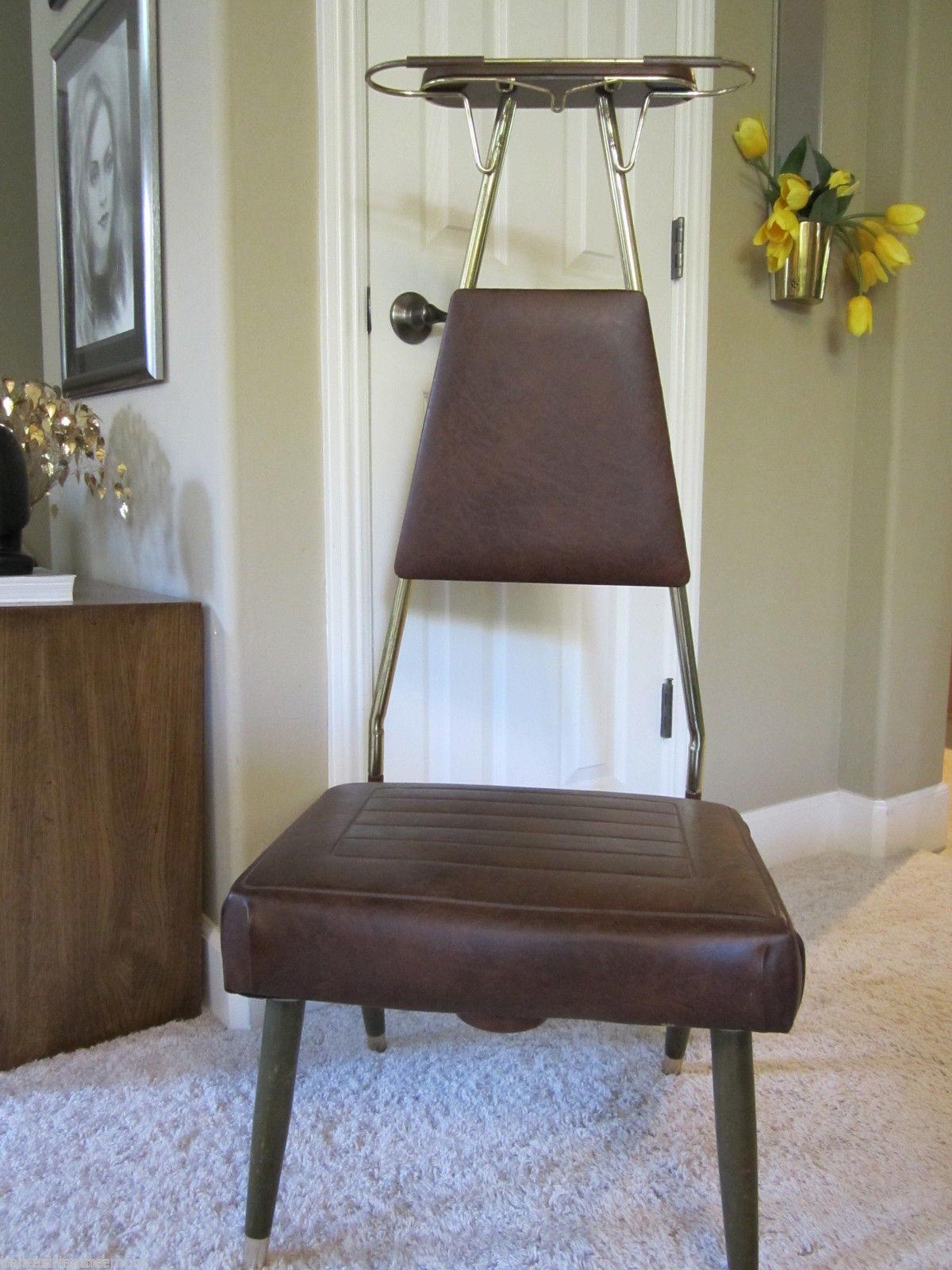 Mid Century Modern Valet Closet/Bedroom Chair   Image 2 Of 11