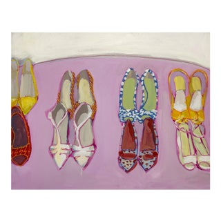 Megan Coonelly Omg Shoes Acrylic Painting