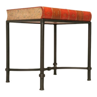 Book Shaped Storage Table