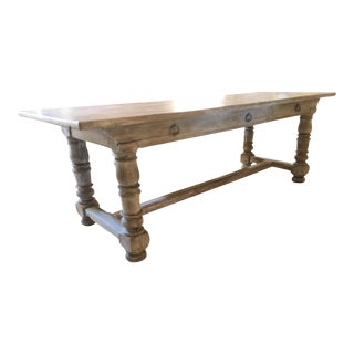 19th C. French Monastery Table