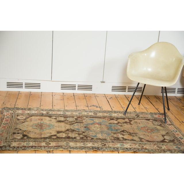 """Distressed Antique Caucasian Rug - 3'6"""" X 5'11"""" - Image 2 of 10"""