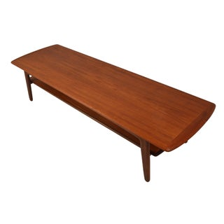 Mid-Century Svend A. Madsen Teak Coffee Table