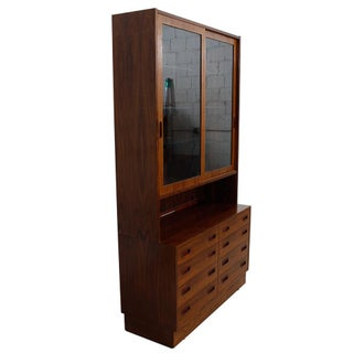 Danish Rosewood Bookcase / Display Cabinet