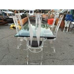Image of Mid-Century Acrylic Dining Set, Made in Italy
