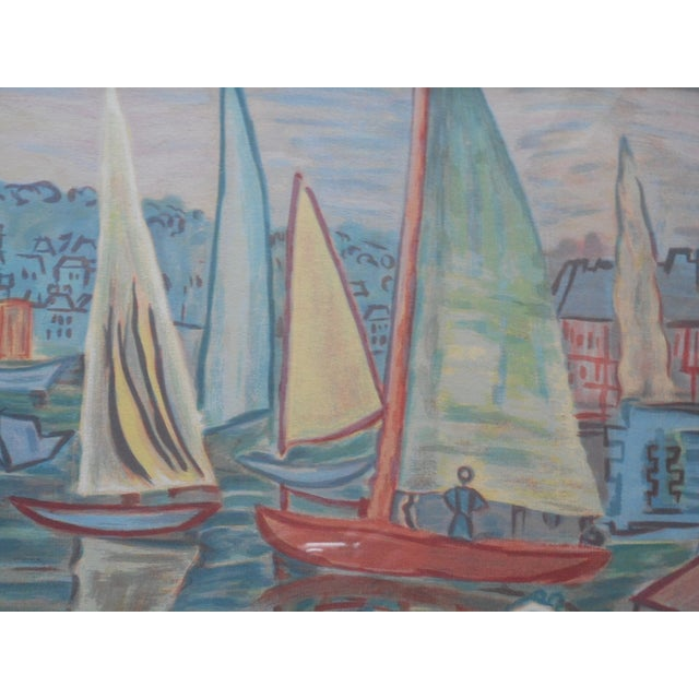 """Image of Vintage Modernist Litho by Raoul Dufy 33""""x13.5"""""""