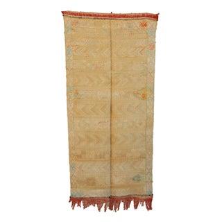"""Vintage Moroccan Cactus Silk Rug - 2'2"""" x 4'5"""""""