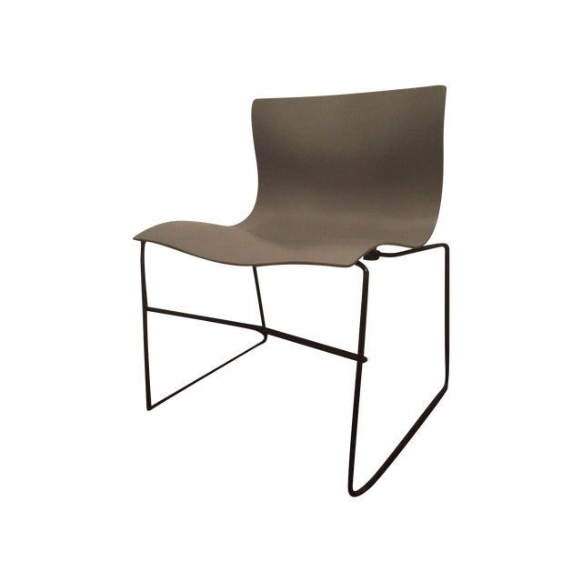 Vignelli Knoll Grey Armless Handkerchief Chair - Image 1 of 8