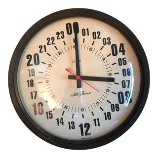 Vintage Seth Thomas Military Hour Clock