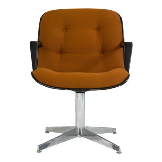 Steelcase Side Chair in Orange