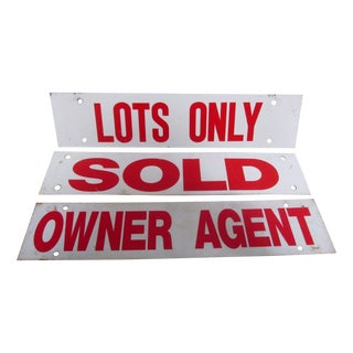 3 Signs Realtor Industrial