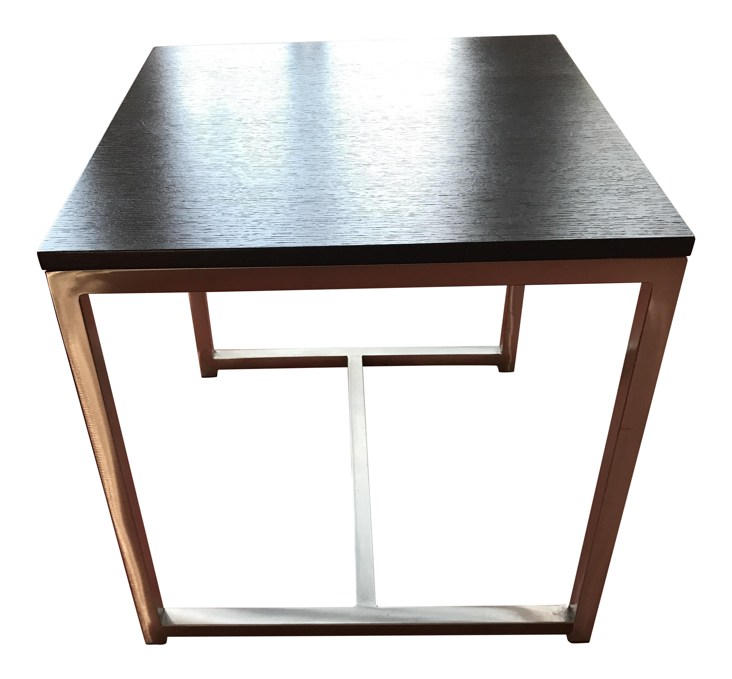Design Within Reach Wenge Cubic End Table