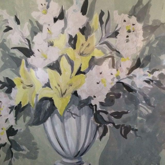 Image of Original Framed Flora Painting by Schmidt