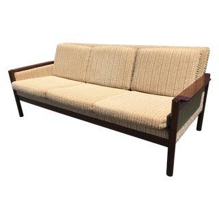 Vintage Rosewood Danish Modern Sofa