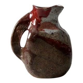 Mid-Century Studio Pottery Pitcher Vase