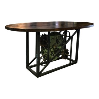 Industrial Wood & Steel Table