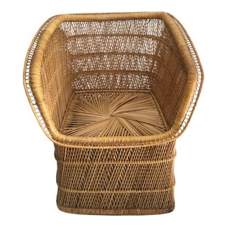 Boho Chic Rattan Chair