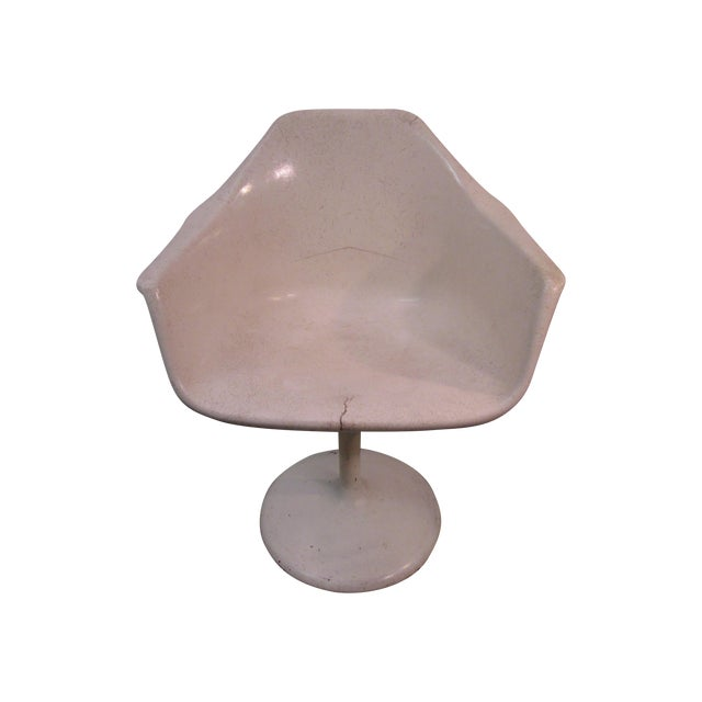 Mid Century Modern Eero Saarinen Tulip Base Chair - Image 1 of 11