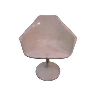 Mid Century Modern Eero Saarinen Tulip Base Chair