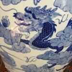 Image of Large Chinoiserie Ceramic Garden Stool