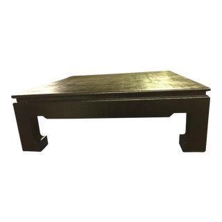 Harrison Van Horn Raffia-Covered Coffee Table