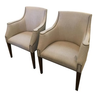 Century Transitional Chairs - A Pair