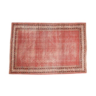"""Vintage Distressed Mir Serbend Carpet- 7' x 10'5"""""""