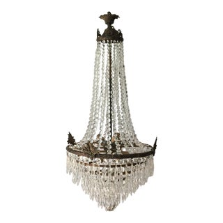 Acanthus Drop Crystal Chandelier