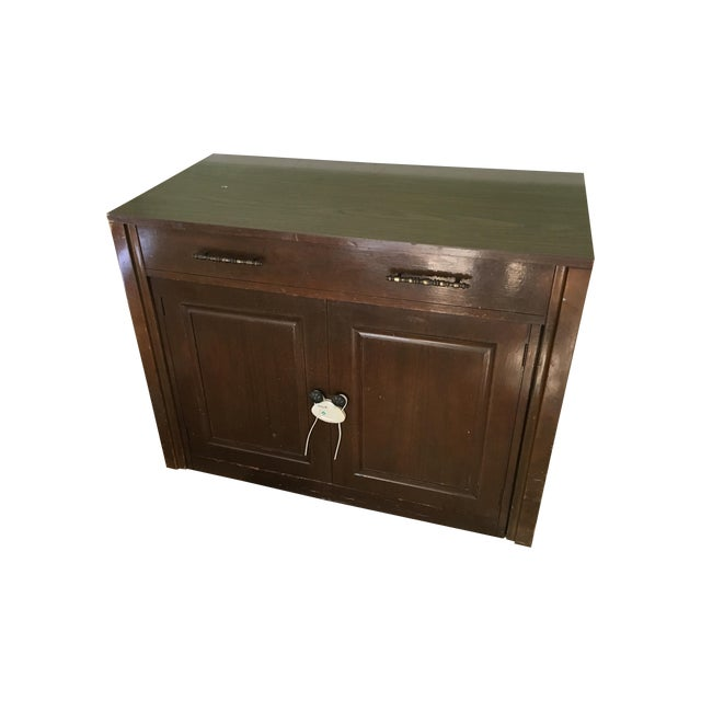 Traditional Expanding Wood Buffet Table - Image 1 of 3