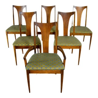 Mid-Century Modern Broyhill Dining Chairs - Set of 6