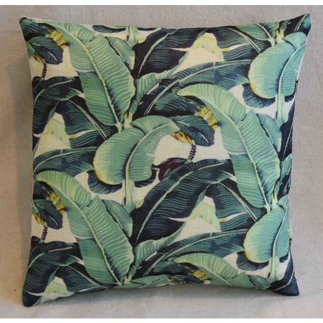 Banana Leaf Pillows - A Pair - Image 4 of 5