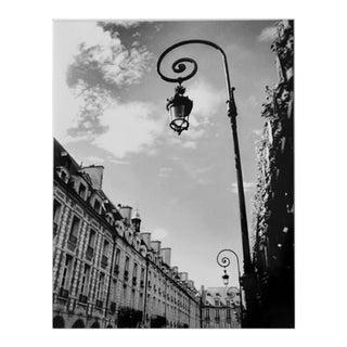 """""""Le Lampadaire"""" Black & White Photograph"""