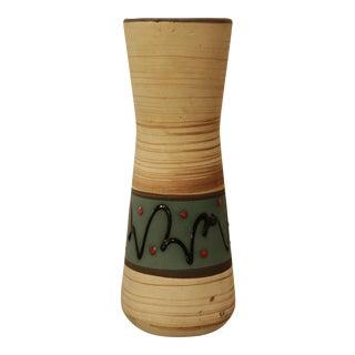 Cream Ceramic Vase by Scheurich Keramic West Germany